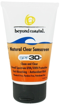 Zoom View - Sunscreen Natural Clear