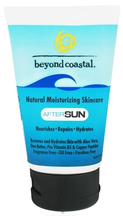 DROPPED: Beyond Coastal - AfterSun Skincare Natural Moisturizing - 2.5 oz. CLEARANCE PRICED