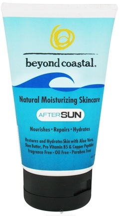 DROPPED: Beyond Coastal - AfterSun Skincare Natural Moisturizing - 4 oz. CLEARANCE PRICED
