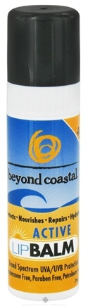 DROPPED: Beyond Coastal - Lip Balm Active 15 SPF - 0.25 oz.