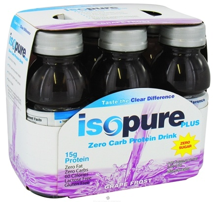 Zoom View - Isopure Plus Zero Carb Protein Drink