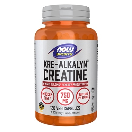 NOW Foods - Kre-Alkalyn Creatine - 120 Capsules