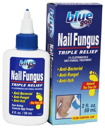 Buy Blue Goo - Nail Fungus Triple Relief Anti-Fungal Treatment with ...