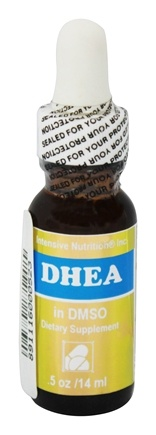Intensive Nutrition, Inc. - DHEA in DMSO Liquid - 0.5 oz.