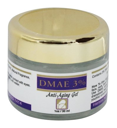 DROPPED: Intensive Nutrition, Inc. - DMAE 3% Anti-Aging Gel - 1 oz.