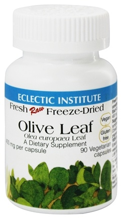 Zoom View - Olive Leaf Fresh Raw Freeze-Dried