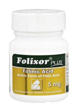 Zoom View - Folixor Sublingual Folic Acid