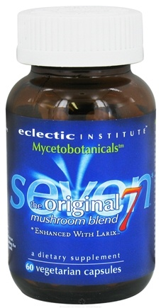 DROPPED: Eclectic Institute - Mycetobotanicals Original Seven Mushroom Blend - 60 Vegetarian Capsules CLEARANCE PRICED