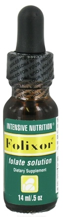 DROPPED: Intensive Nutrition, Inc. - Folixor Folate Solution - 0.5 oz. CLEARANCE PRICED