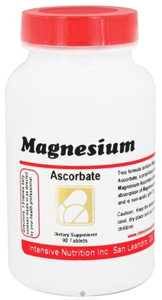 DROPPED: Intensive Nutrition, Inc. - Magnesium Ascorbate - 90 Tablets