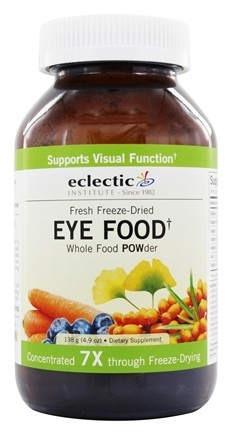 Eclectic Institute - Eye Food Powder Fresh Freeze-Dried - 138 Grams