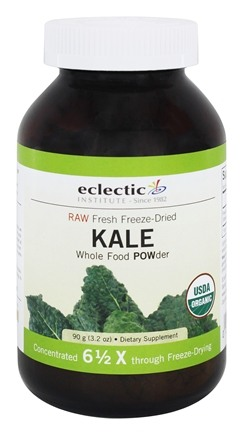 Eclectic Institute - Kale Powder Raw Fresh Freeze-Dried - 90 Grams