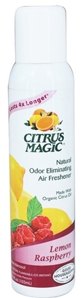 Citrus Magic - Odor Eliminating Air Freshener Lemon Raspberry - 3.5 oz.