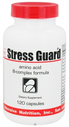 DROPPED: Intensive Nutrition, Inc. - Stress Guard Amino Acid B-Complex Formula - 120 Capsules CLEARANCE PRICED