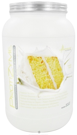 DROPPED: Metabolic Nutrition - ProtiZyme Specialized Designed Protein Vanilla Cake - 2 lbs. CLEARANCE PRICED