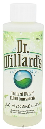 DROPPED: Dr. Willard's - Willard Water Clear Concentrate - 4 oz.