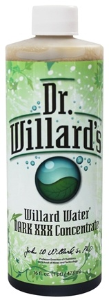 Dr. Willard's - Willard Water Dark XXX Concentrate - 16 oz.