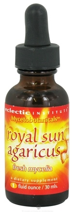 DROPPED: Eclectic Institute - Mycetobotanicals Royal Sun Agaricus Fresh Mycelia - 1 oz. CLEARANCE PRICED