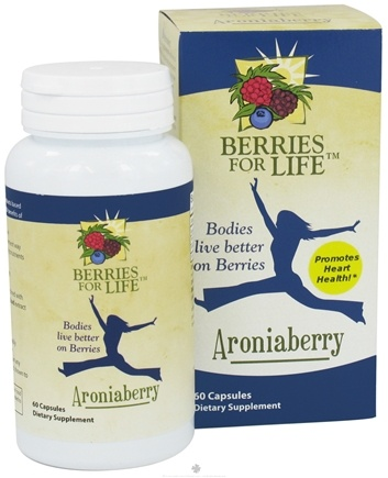 DROPPED: Berries for Life - Aroniaberry for Heart Health - 60 Capsules