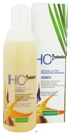 DROPPED: Homocrin - HC+Probiotici Natural Active Prevention Shampoo For Hair Loss - 8.45 oz.