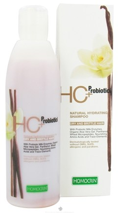 DROPPED: Homocrin - HC+Probiotici Natural Hydrating Shampoo For Dry and Brittle Hair - 8.45 oz. CLEARANCE PRICED