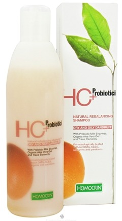 DROPPED: Homocrin - HC+Probiotici Natural Rebalancing Shampoo For Dry and Oily Dandruff - 8.45 oz.