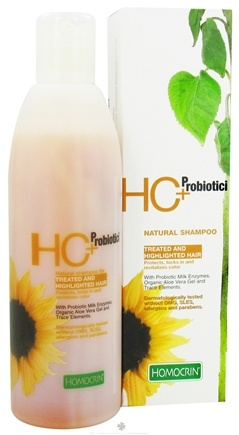 Zoom View - HC+Probiotici Natural Shampoo For Treated and Highlighted Hair