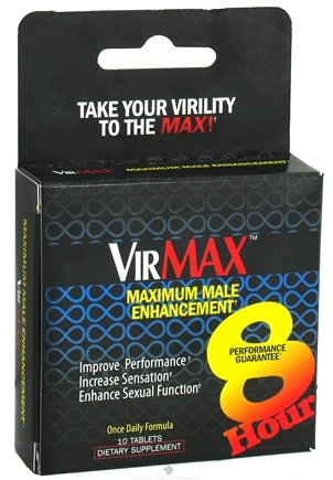 DROPPED: VirMax - Maximum Male Enhancement - 10 Tablets