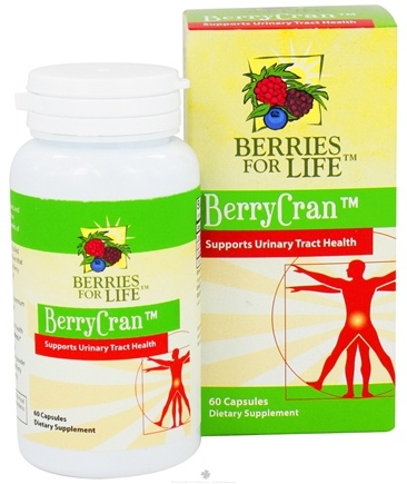 DROPPED: Berries for Life - BerryCran Supports Urinary Tract Health - 60 Capsules CLEARANCE PRICED