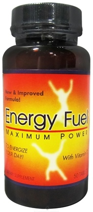 DROPPED: Twinlab - Energy Fuel Maximum Power Ephedra Free - 50 Capsules
