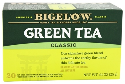 DROPPED: Bigelow Tea - Green Tea Classic - 20 Tea Bags