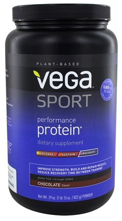 Zoom View - Natural Plant Based Performance Protein