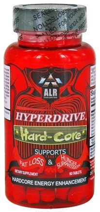 DROPPED: ALRI - Hyperdrive Hard-Core - 60 Tablets