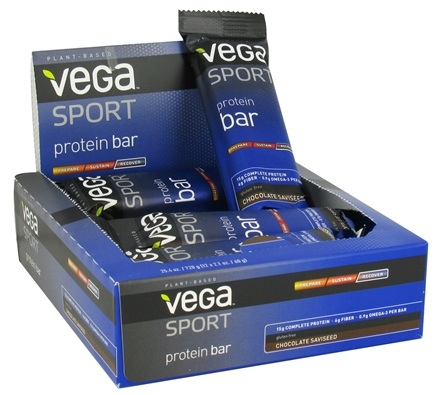 DROPPED: Vega - Vega Sport Plant-Based Protein Bar Chocolate Saviseed - 2.1 oz.