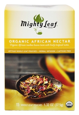 Mighty Leaf - Herbal Infusion Organic African Nectar - 15 Tea Bags