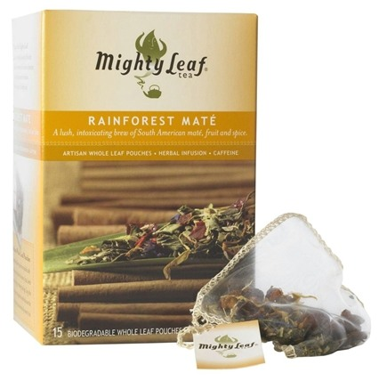 DROPPED: Mighty Leaf - Herbal Infusion Rainforest Mate - 15 Tea Bags