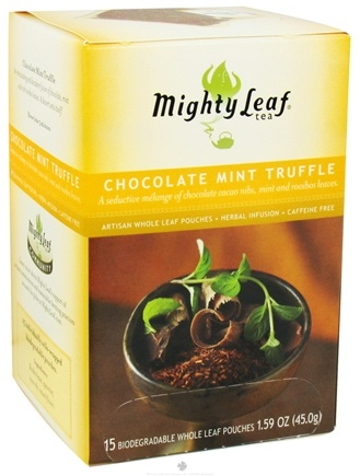 DROPPED: Mighty Leaf - Herbal Infusion Chocolate Mint Truffle - 15 Tea Bags