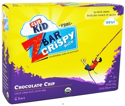 Zoom View - Kid Z-Bar Organic Crispy Rice