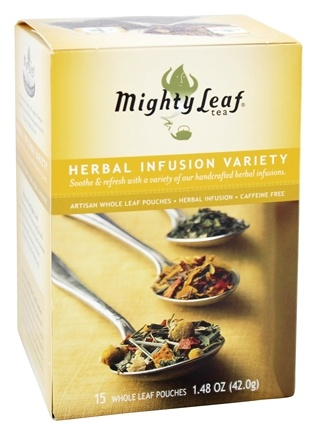 DROPPED: Mighty Leaf - Herbal Infusion Variety - 15 Tea Bags