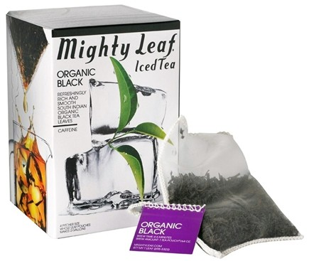 DROPPED: Mighty Leaf - Black Iced Tea Organic - 4 Tea Bags CLEARANCE PRICED