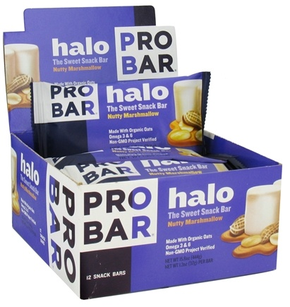 DROPPED: Pro Bar - Halo Snack Bar Nutty Marshmallow - 1.3 oz. CLEARANCE PRICED