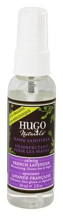 DROPPED: Hugo Naturals - Hand Sanitizer Calming French Lavender - 2 oz.