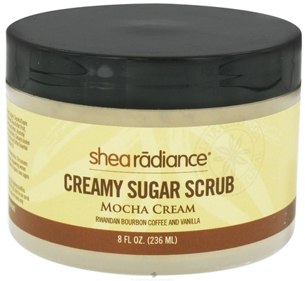 DROPPED: Shea Radiance - Creamy Sugar Scrub Mocha Cream - 8 oz. CLEARANCE PRICED