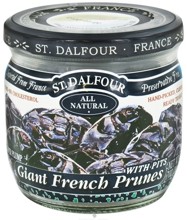 DROPPED: St. Dalfour - Super Plump Giant French Prunes with Pits - 7 oz.