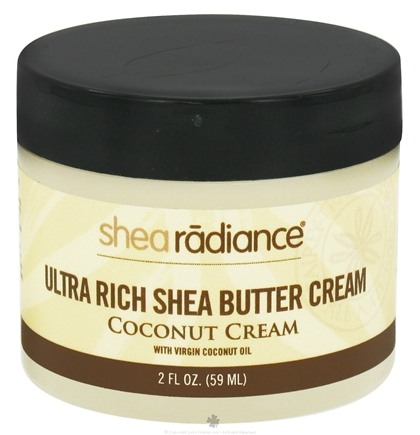 DROPPED: Shea Radiance - Ultra Rich Shea Butter Cream Coconut Cream - 2 oz. CLEARANCE PRICED