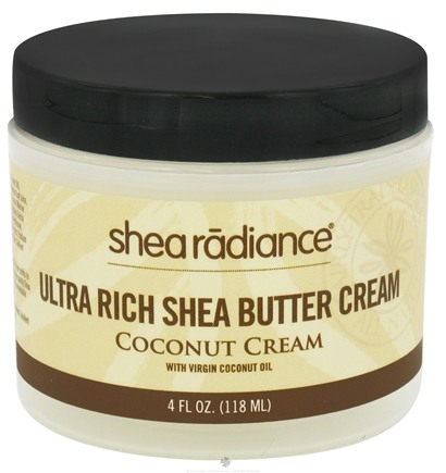 DROPPED: Shea Radiance - Ultra Rich Shea Butter Cream Coconut Cream - 4 oz.