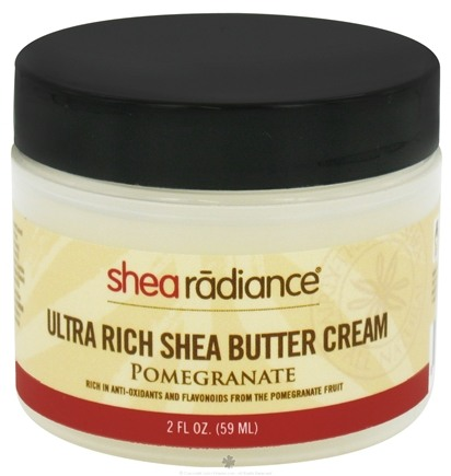 DROPPED: Shea Radiance - Ultra Rich Shea Butter Cream Pomegranate - 2 oz. CLEARANCE PRICED