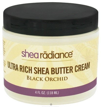 DROPPED: Shea Radiance - Ultra Rich Shea Butter Cream Black Orchid - 4 oz. CLEARANCE PRICED