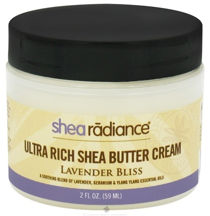 DROPPED: Shea Radiance - Ultra Rich Shea Butter Cream Lavender Bliss - 2 oz. CLEARANCE PRICED