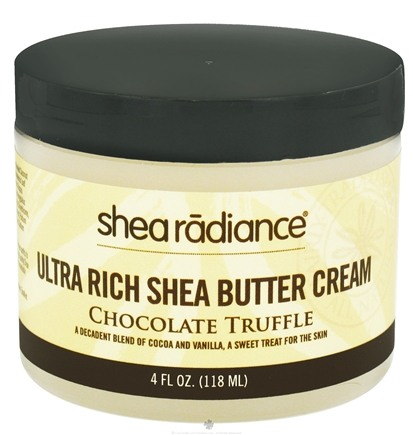 DROPPED: Shea Radiance - Ultra Rich Shea Butter Cream Chocolate Truffle - 4 oz. CLEARANCE PRICED